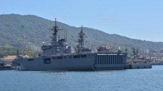 水体の大型船の写真・画像素材[781515]