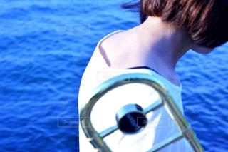 水のプールの人の写真・画像素材[808081]
