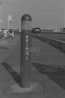 道の端に消火栓の写真・画像素材[819644]