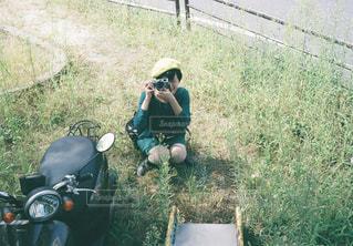 バイクに座っている男 - No.856782