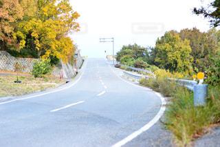 道の端にサインの写真・画像素材[915940]