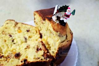 冬,ケーキ,デザート,皿,クリスマス,ハンドメイド,料理,手作り,作品,パネトーネ