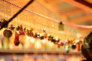 冬,夜,屋外,光,クリスマス,置物,ドイツ,マーケット