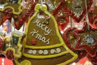 冬,夜,屋外,暗い,光,クリスマス,お菓子,ドイツ,マーケット,菓子,複数,レープクーヘン