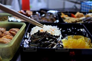 食べ物,おせち,正月,料理,テーブルフォト,つまみぐい