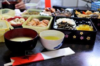 食べ物,食事,屋内,テーブル,おせち,正月,カップ,テーブルフォト,白味噌
