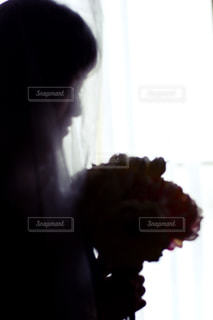 人のぼやけた画像の写真・画像素材[995268]