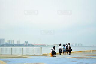 ビーチの人々 のグループ - No.995285