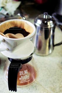 コーヒー,マイホーム,キッチン,屋内,家,カップ,珈琲,フィルター,飲料,ポット