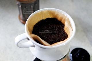 一杯のコーヒーの写真・画像素材[1008873]