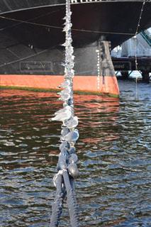水に浮かぶボートの写真・画像素材[1022558]