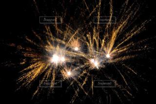夜空の花火の写真・画像素材[1450340]