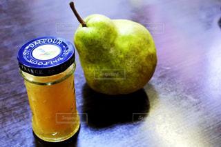オレンジ ジュースのガラスの写真・画像素材[1469548]
