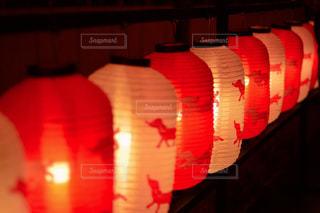 ディスプレイ上にあるランプの写真・画像素材[1709362]