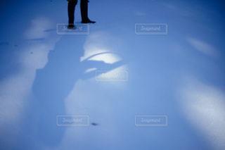 空を飛んでいる人の写真・画像素材[1852869]