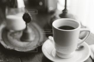 コーヒーカップのクローズアップの写真・画像素材[2267280]
