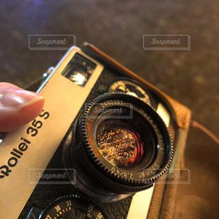 カメラをクローズアップするの写真・画像素材[2816145]