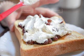 サンドイッチのクローズアップの写真・画像素材[4359080]
