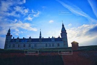 デンマークにあるシェイクスピアの舞台にもなった世界遺産、クロンボー城の写真・画像素材[1849789]