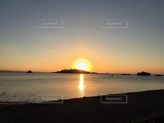 地元の夕焼けの写真・画像素材[959360]