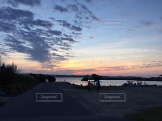 地元の夕焼け✨の写真・画像素材[959381]