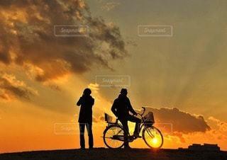 2人の写真・画像素材[10871]