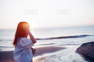 夕陽の写真・画像素材[1236694]