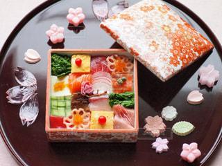 モザイク寿司の写真・画像素材[1040300]