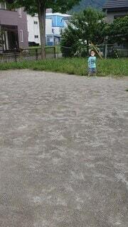 公園,屋外,ジャンプ,地面,男の子