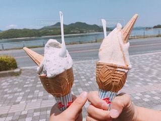 アイスクリームの写真・画像素材[3602786]