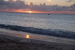 夕日,波照間島