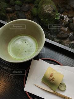 抹茶と和菓子の写真・画像素材[947548]