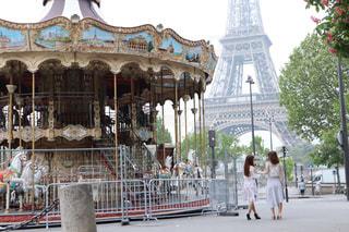 女性,屋外,後ろ姿,人物,人,後姿,パリ,Paris,街中
