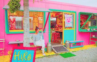 カラフルなコーヒー屋さん - No.714132