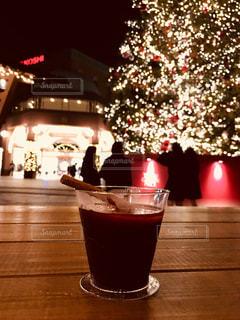 冬,赤,光,装飾,クリスマスツリー,恵比寿ガーデンプレイス,ホットワイン,オープンカフェ,ヴァンショー