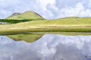 草千里の写真・画像素材[852012]