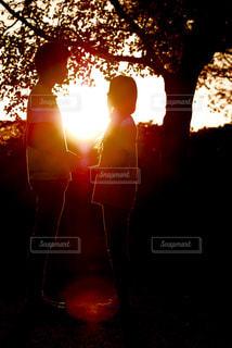 夕日の写真・画像素材[380357]
