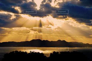 夕日の写真・画像素材[431005]