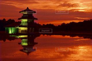 夕日の写真・画像素材[1285534]
