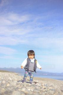 海風の気持ちのいい日の写真・画像素材[1019078]