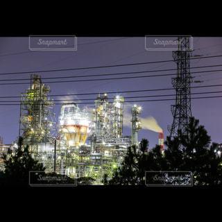 夜の街の景色の写真・画像素材[1023482]