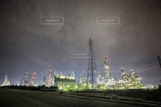 工場夜景の写真・画像素材[1023483]