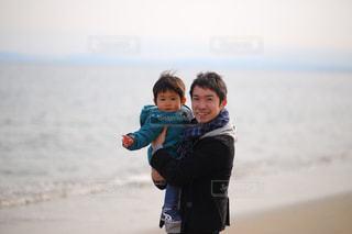 浜辺での写真・画像素材[1251716]