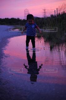 夕暮れの写真・画像素材[1290083]