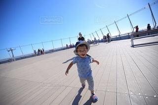 走るのが楽しくての写真・画像素材[1374582]