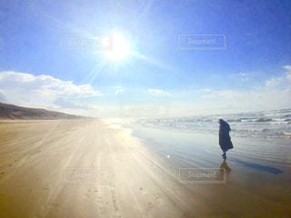 千里浜の写真・画像素材[1099564]