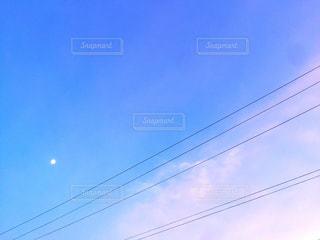 青空から夕焼けへの写真・画像素材[1099567]