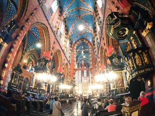 風景,海外,景色,旅行,教会,ポーランド,海外旅行,クラフク