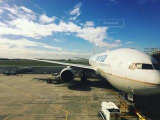 屋外,海外,飛行機,旅行,旅,空港,海外旅行,出発