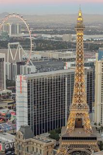建物,屋外,海外,観覧車,アメリカ,タワー,エッフェル塔,ホテル,ラスベガス,海外旅行,ストリップ,ブルーバード,パリスラスベガス